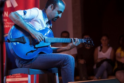 Yul Ballesteros Group pone el broche final al ciclo de conciertos 'Jazz en San Martín' 2016