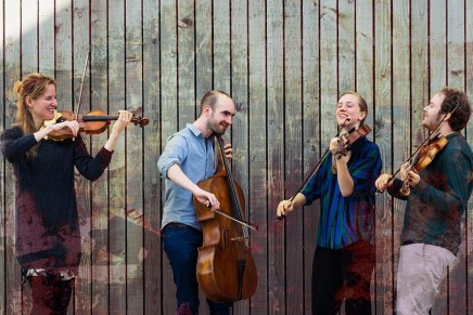 "North Sea String Quartet presenta en Canarias ""The Kitchen Sessions"", su primer EP"