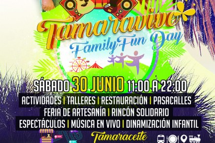 "Primera edición de ""TAMARAVIVE"", family fun day"