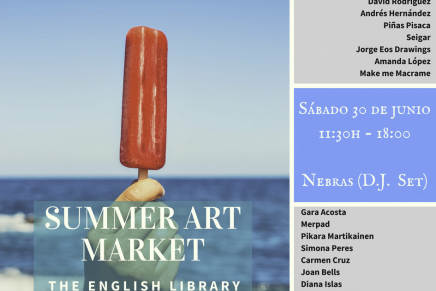 Summer Art Market at The English Library, Puerto de la Cruz