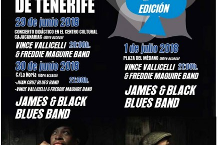 Arranca el Santa Blues de Tenerife 2018