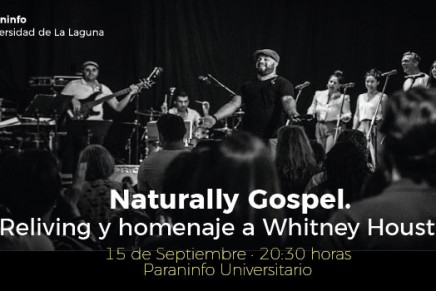 Ezequiel Barrios y Naturally Gospel homenajearán a Whitney Houston en La Laguna