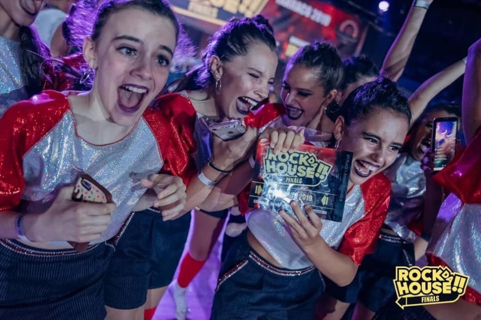 Lil Diamonds, un equipo de Santa Cruz de Tenerife, gana la final europea de la competición de baile Rock Da House 2019